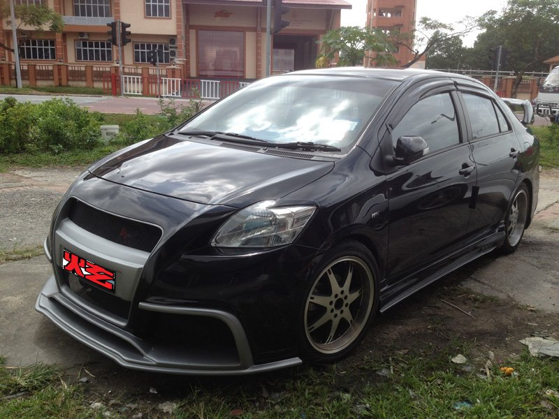 Toyota Vios 08 Customized Bodykit A Perfect Design