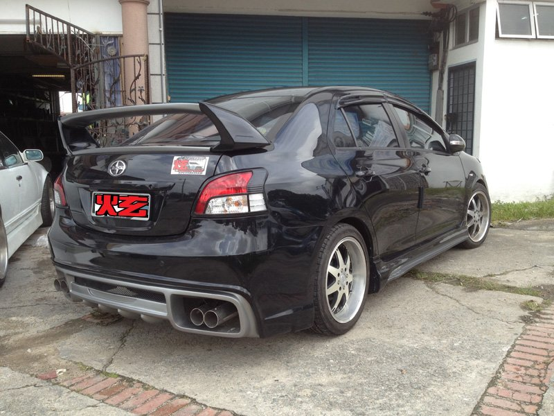 Toyota Vios 08 Customized bodykit (A Perfect Design)