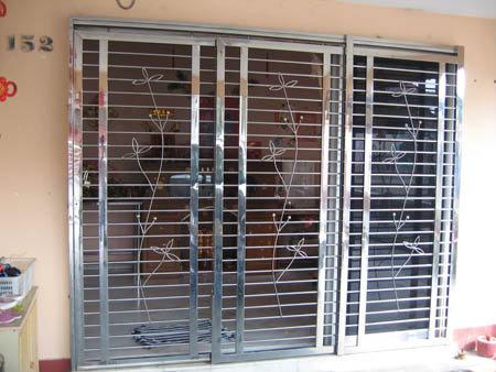Dg07 door grille johor bahru jb malaysia service for Door design johor