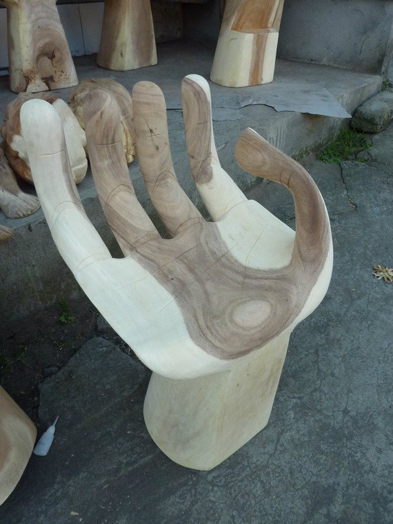 Hand Chair.Wood Carved.Home Deco.Hiasan.Johor.Fengshui.Decor