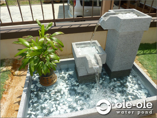 P3XLWater Ponds Design MalaysiaKolam IkanHiasanJohorFengshuiHome DecoWater