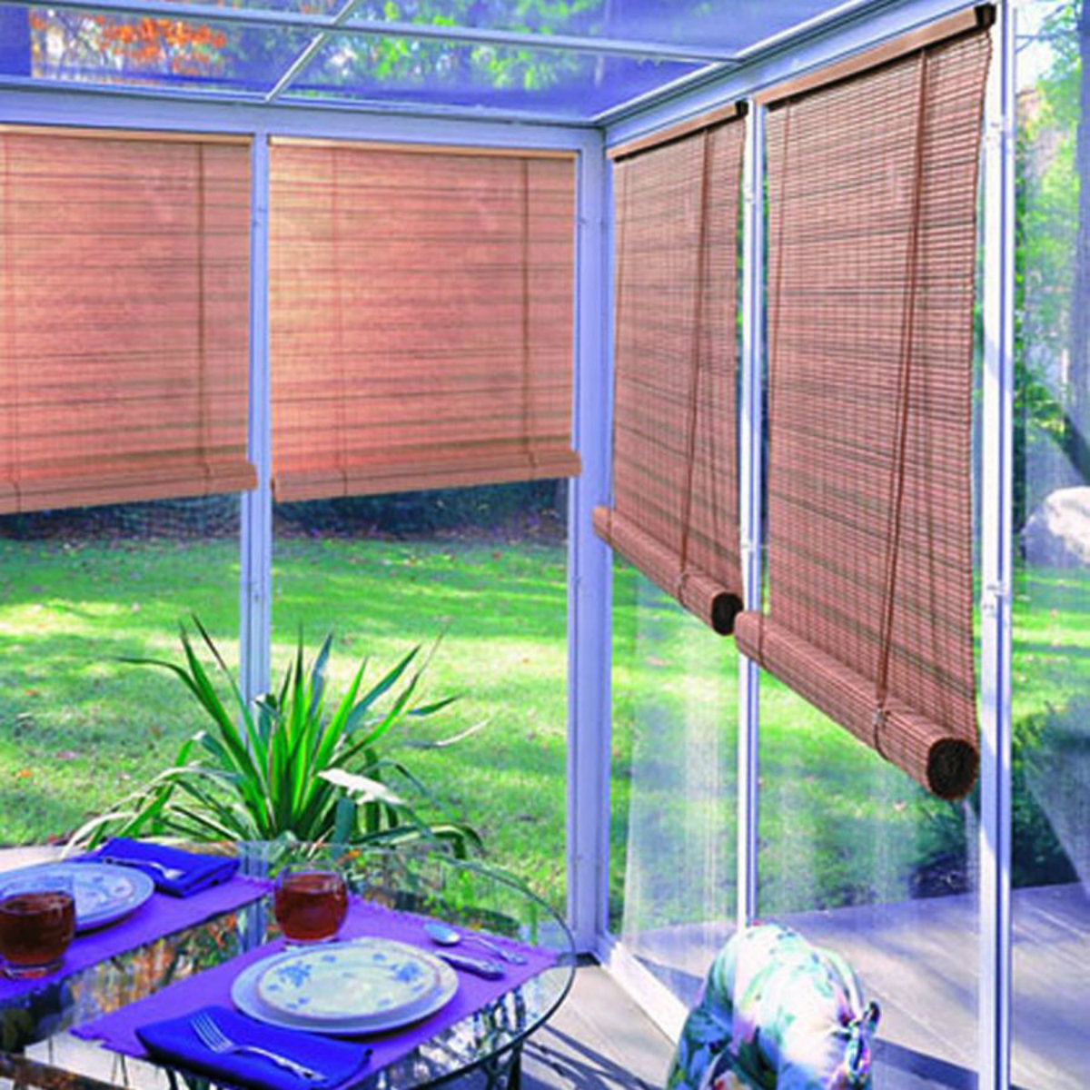 Out Door Bamboo Blind