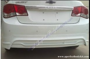 Chevrolet Cruze 2010 Rear Lip