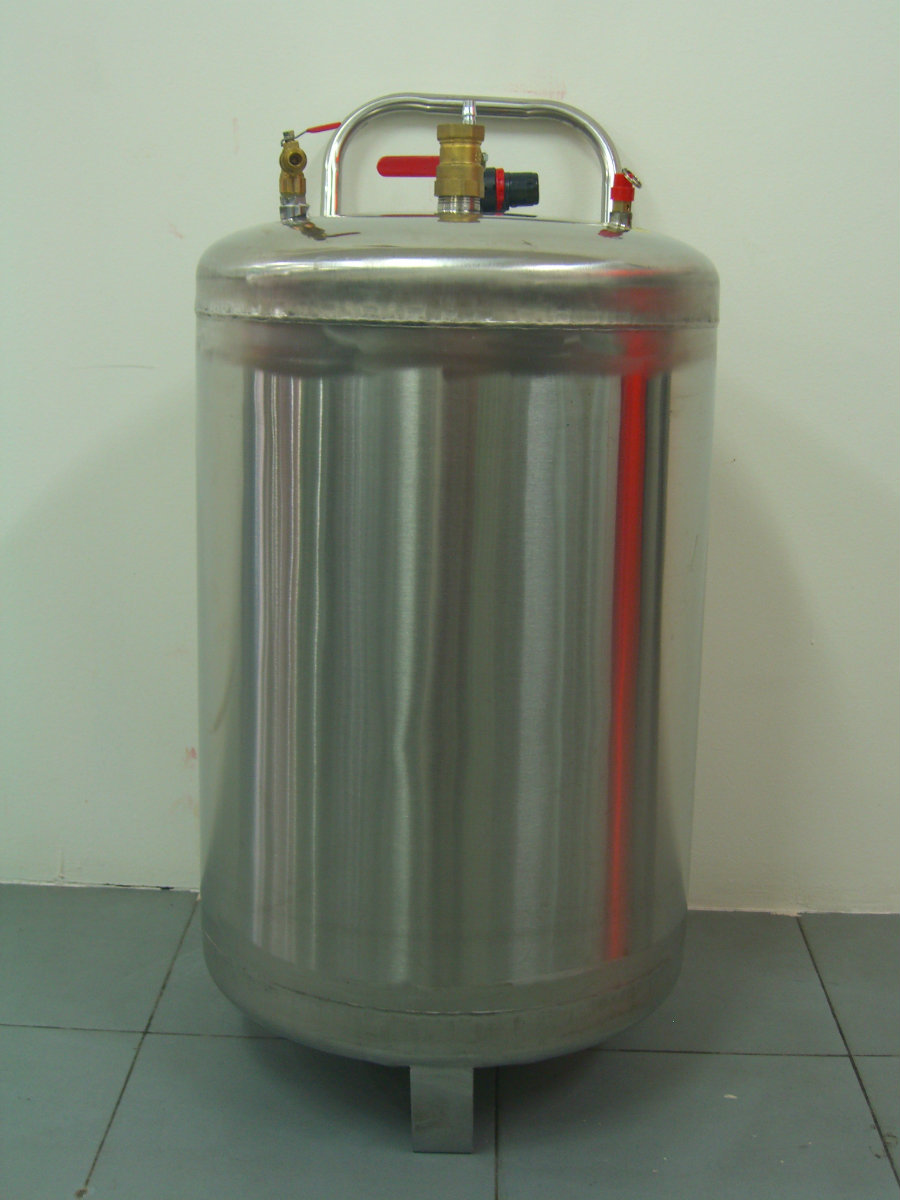 snow tank stainless steel 80 liter