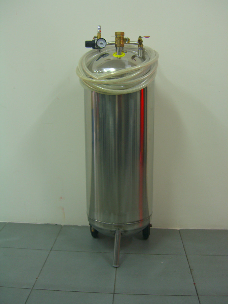 snow tank stainless steel 60liter