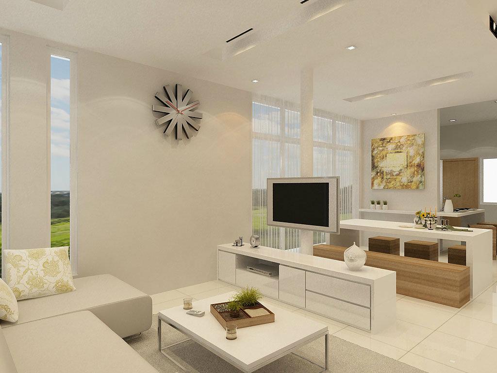 Living room design gradeur park sb pulai hijauna johor for Living room design johor bahru