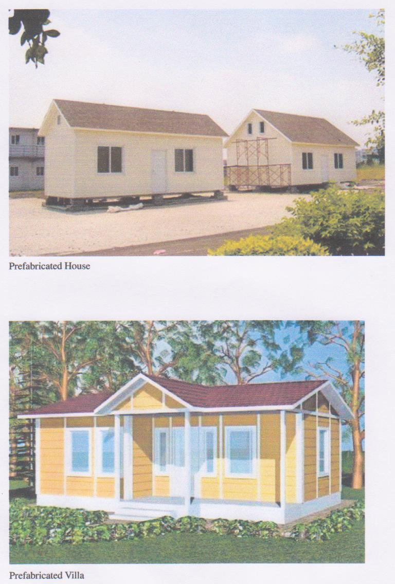 Prefabrcated house