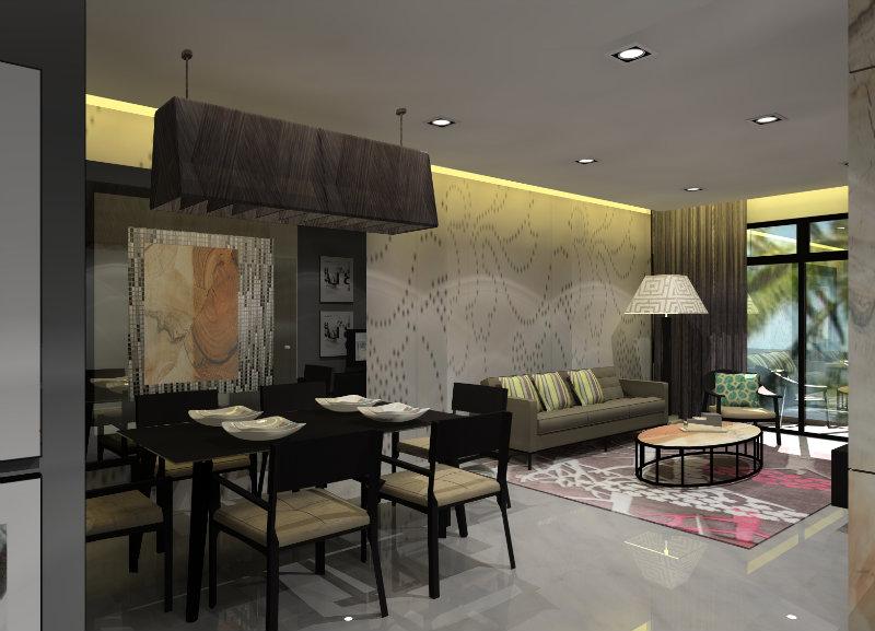 Living room design 3d johor bahru jb malaysia design for Living room design johor bahru