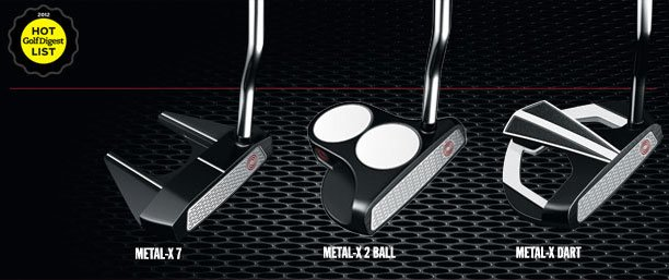 New Odyssey Metal-X Putters from VK Golf Semua House KL