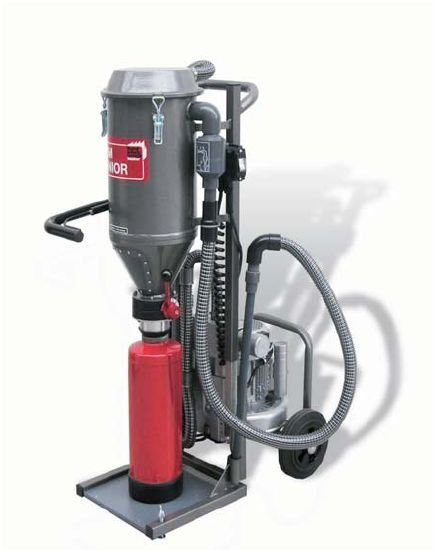 PSM N Junior Powder Suction Machine (For Low Construction)