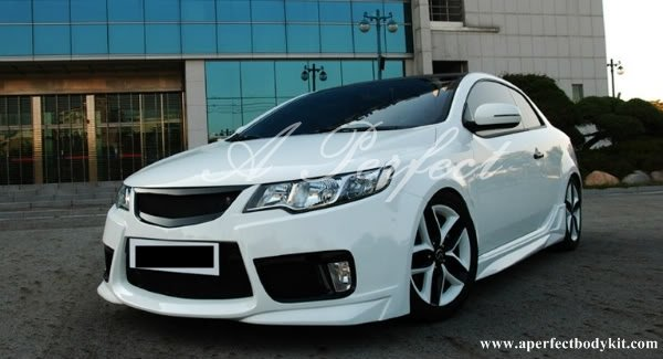 Kia Forte & Koup NF Style Front Bumper. NF Style Side Skirt