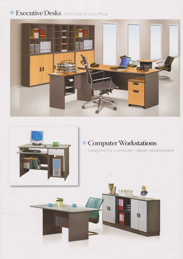 Executive Desks and Computer Workstations