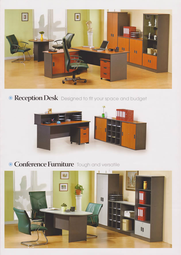 Reception Desk and Conference Furniture