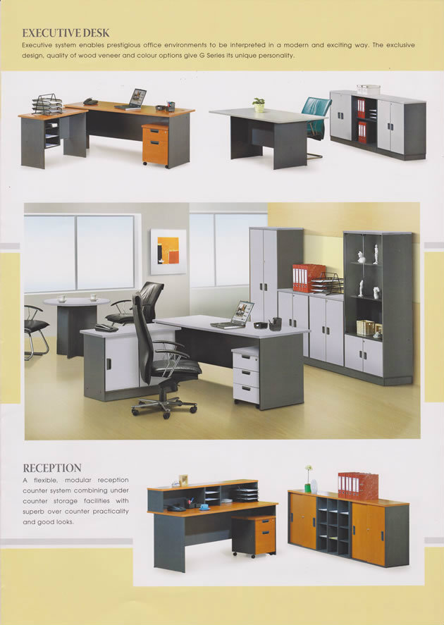 Exeutive Desk & Reception