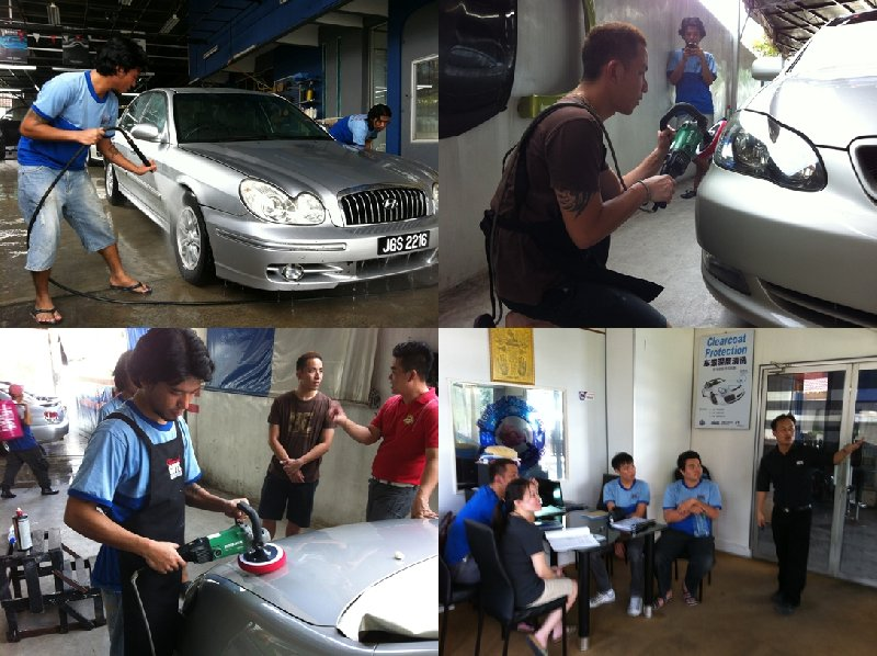 Puchong,KL Franchise Training (4 June to 8 June 2012)