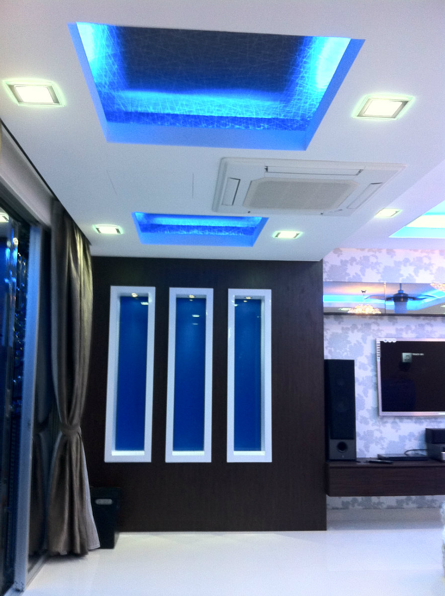 interior design . ceiling design . Nusa Duta . Living