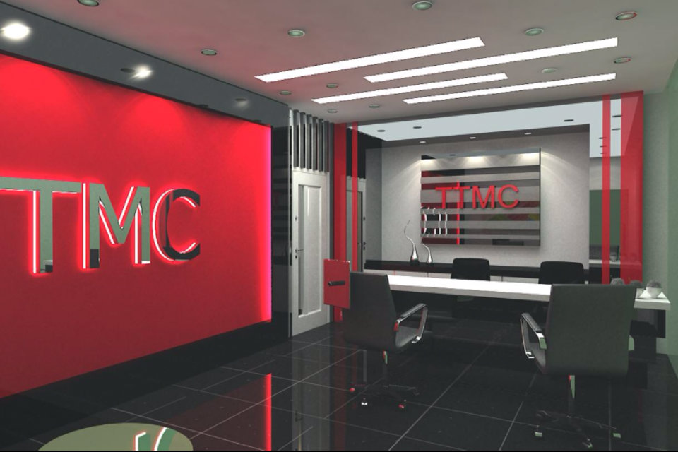Reception counter . Company reception . office reception . reception design