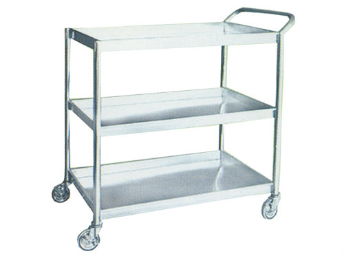 Stainless Steel 3 Tier Trolley Stainless Steel Fabrication