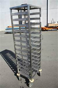Stainless Steel Mobile Cooling Rack