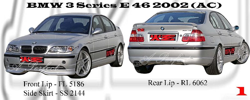 BMW 3 Series E46 2002 AC