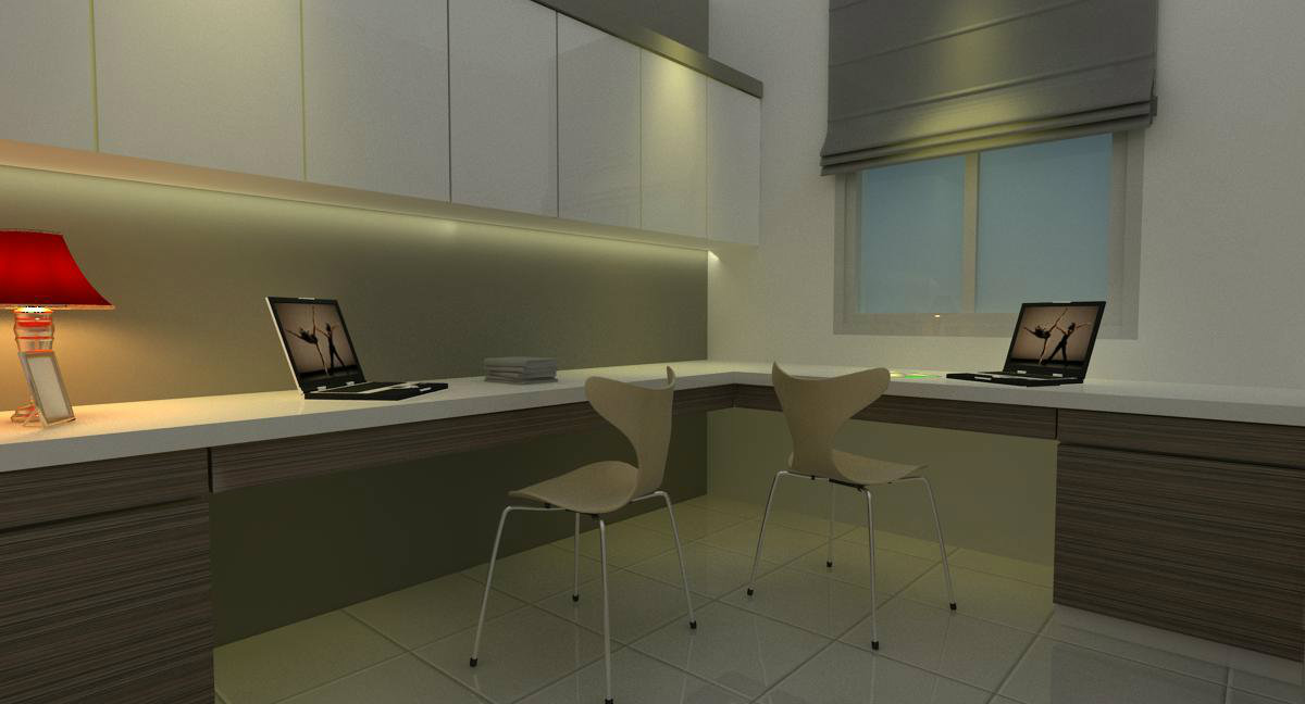 Bestari height . study room . design of study room