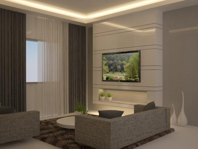 Tv feature wall design tv feature wall design living room for Interior feature wall designs