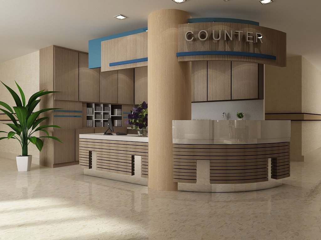 Hospital Counter Design Hospital Project Other JB Johor Bahru Design ...