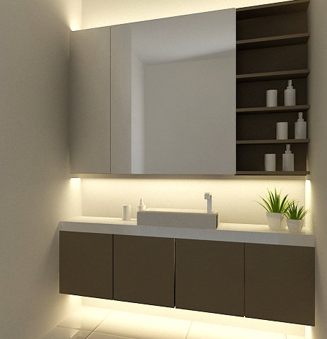Tenere al caldo in casa 12 26 13 for Bathroom designs malaysia