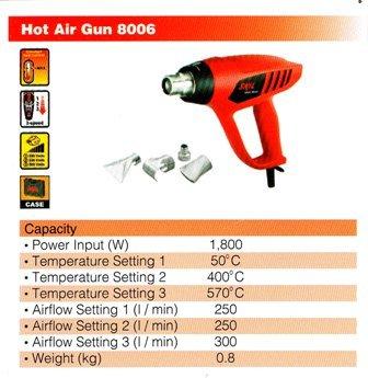 8006 Hot Air Gun ★ Skil Hot Air Gun Johor Bahru Jb