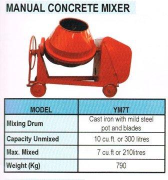 Manual Concrete Mixer ★ Hisaki Johor Bahru Jb Malaysia