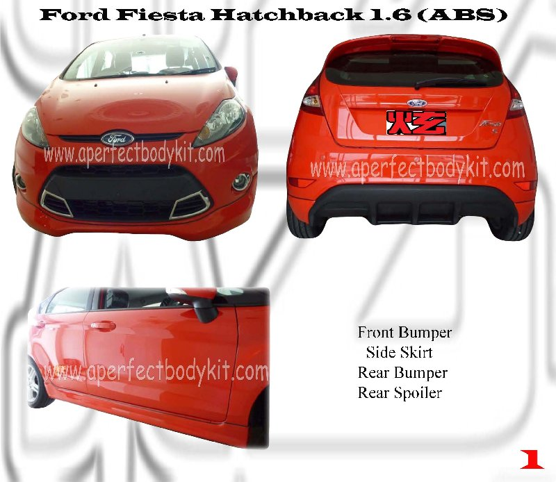 Ford Fiesta Hatchback 1.6 (ABS)