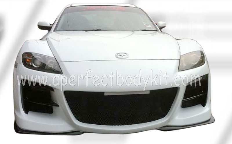 Mazda RX8 03 Front Bumper (M Speed)