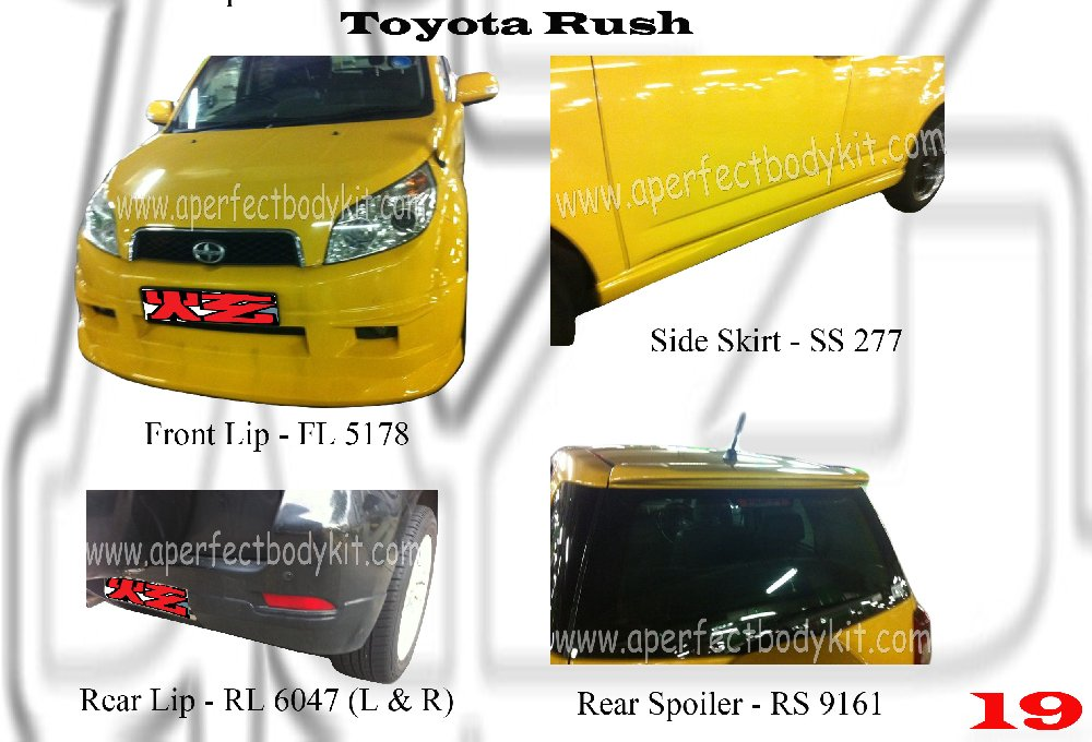 2005 Volkswagen Jetta 2.5 >> Toyota Rush Toyota Rush Johor Bahru JB Malaysia Body Kits ...