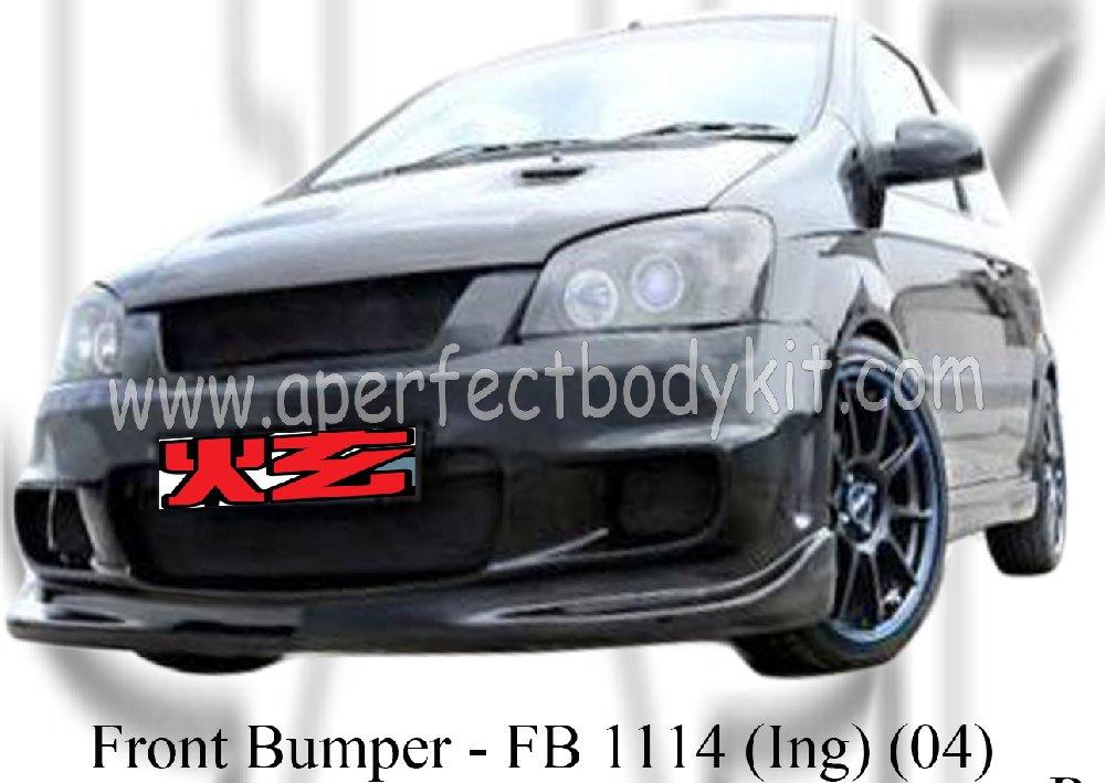 Hyundai Getz 04 Ing Front Bumper ★ Hyundai Getz Jb Johor