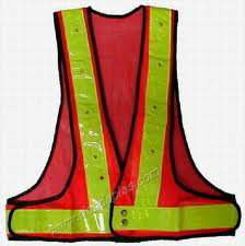 body vest with LED light