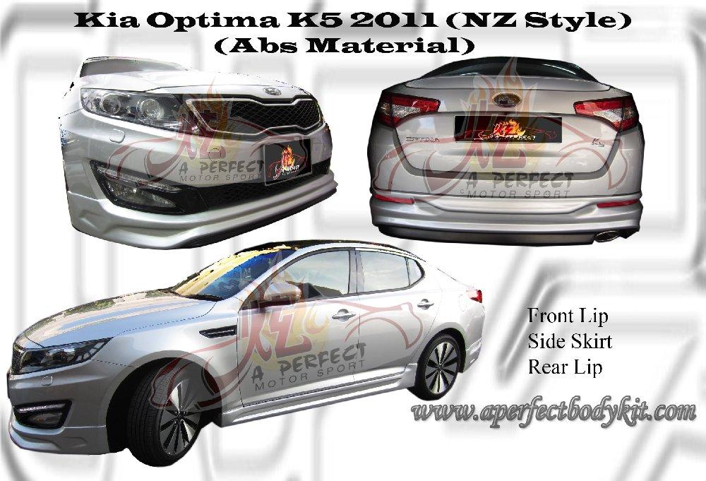 Kia Optima k5 Body Kit Kia Optima k5 2011 nz Style