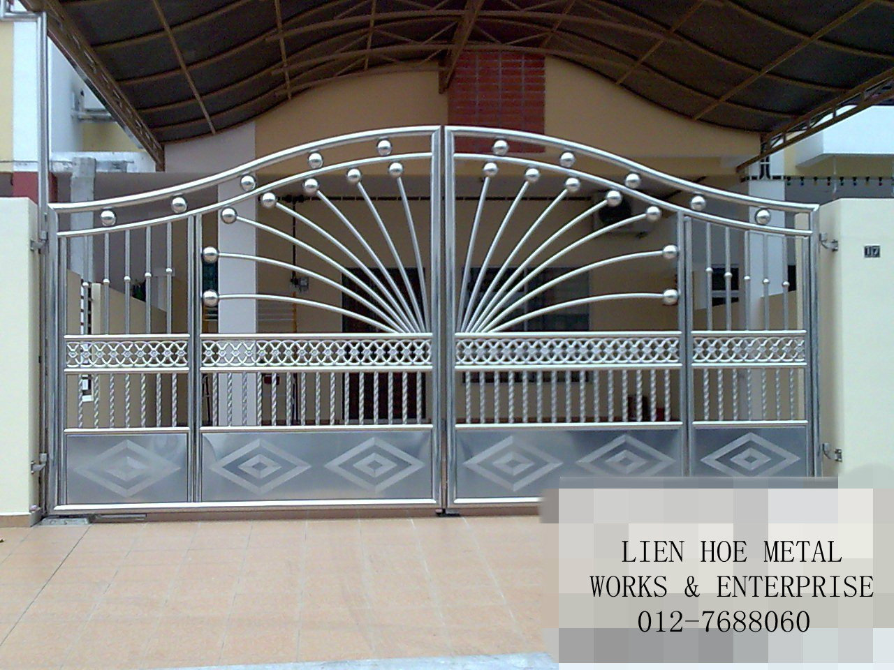 Metal gate designs metal gates and gate design on pinterest Metal gate designs images