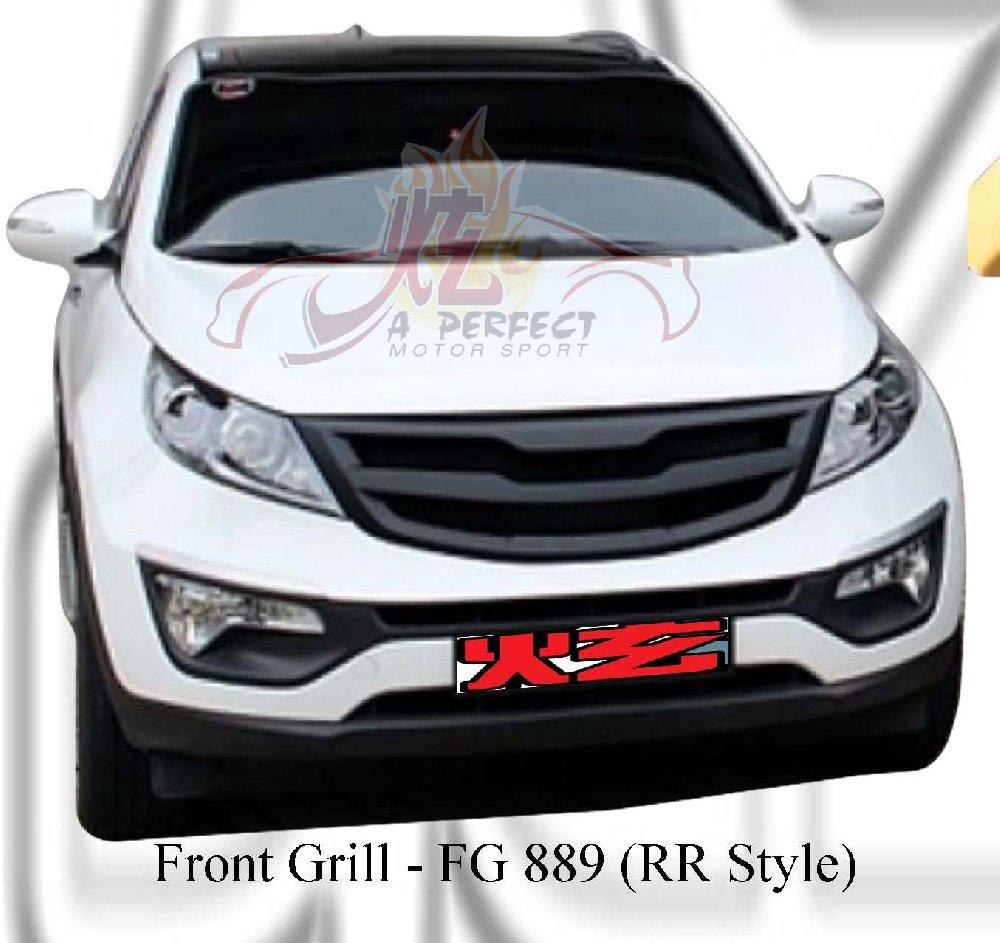 Kia Sportage Front Grill Rr Style ★ Kia Sportage Jb Johor