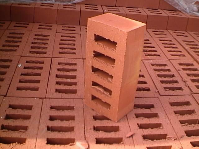 Smooth Surface Ultra Red Bricks