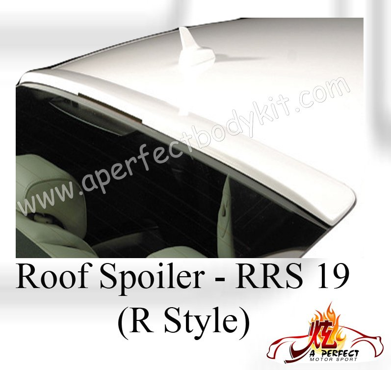 Audi A5 R Style Glass Wing Spoiler