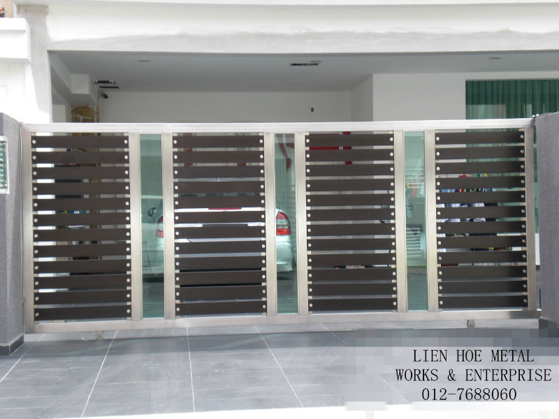 Gate material and cost for Main gate door design