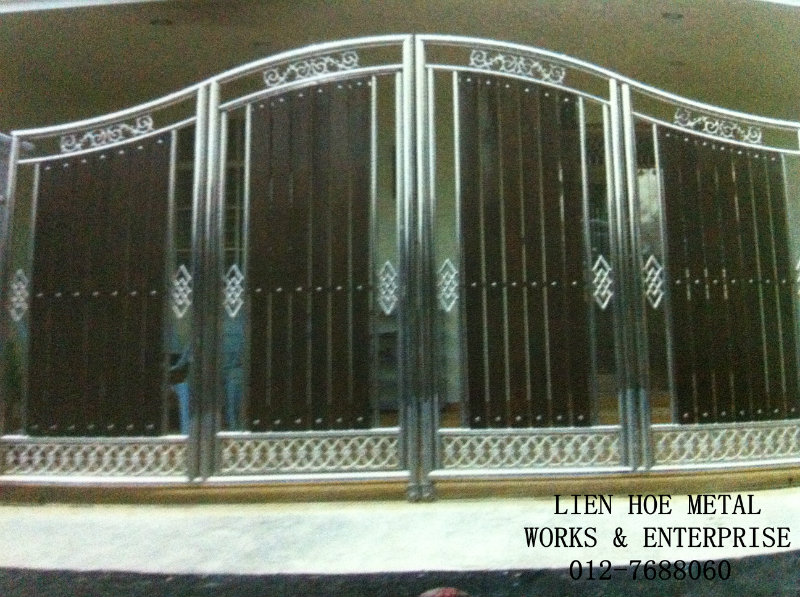 Gate steel design latest philippines joy studio