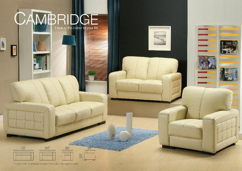 M n 23 sofa leather sofa johor bahru jb malaysia tan for Sofa bed johor bahru