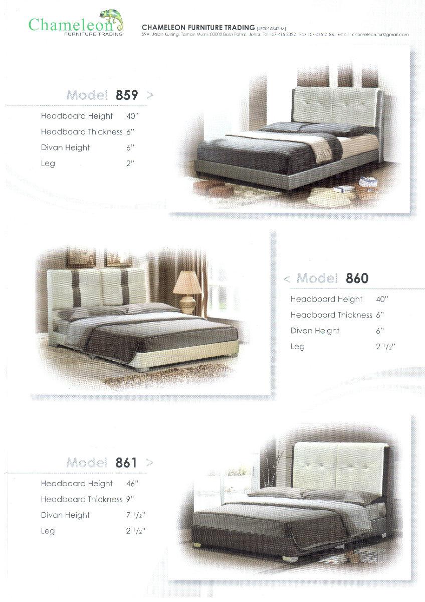 Chamelon06 bed double bed johor bahru jb malaysia tan for Sofa bed johor bahru