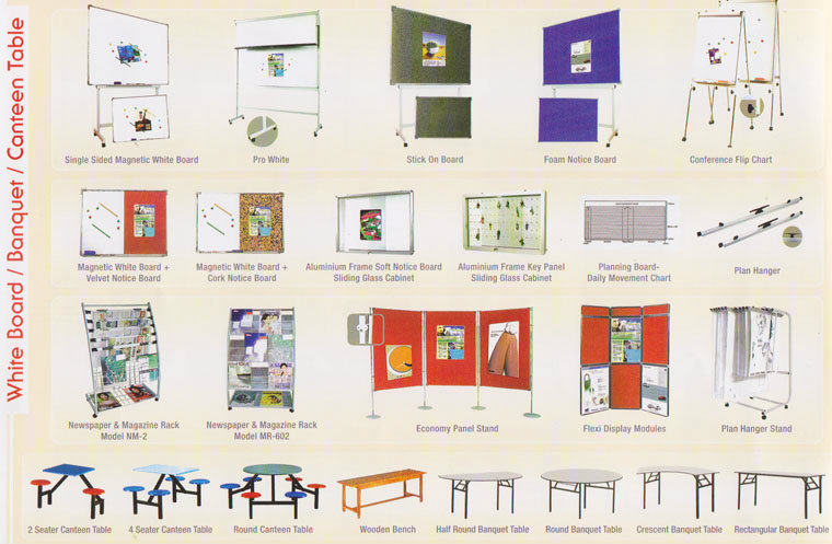 Whiteboard and Display Furniture