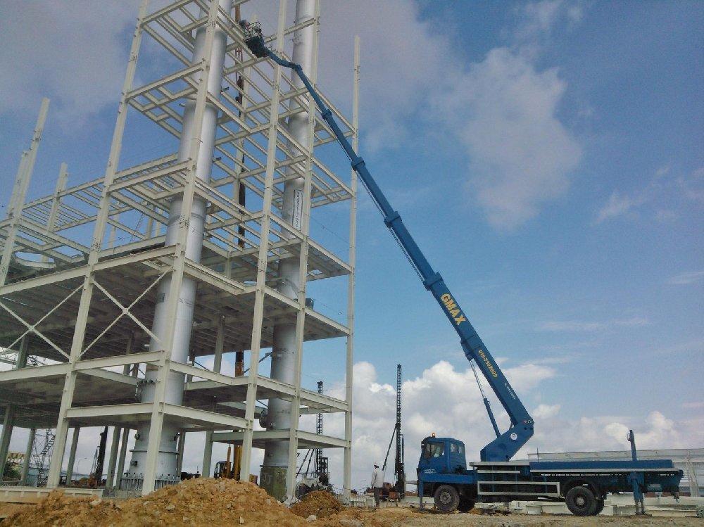 45m skylift job