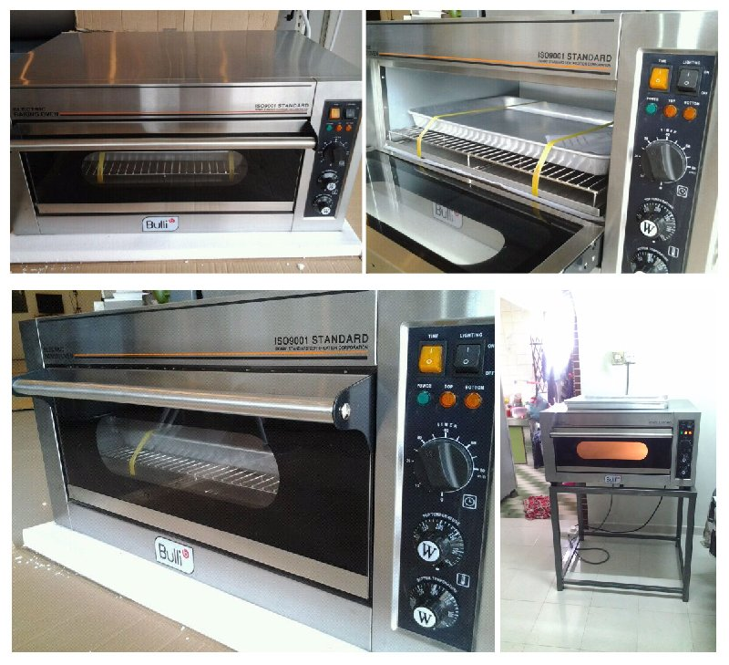 Bulli Local Electric Oven / Bulli Local Elektrik Ketuhar / �������õ�¯