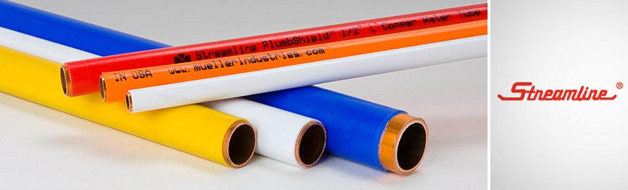 Plastic coated copper tube mueller plumbing puchong