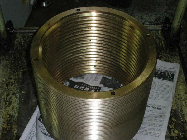 Large Nickel Bronze Threading Bush