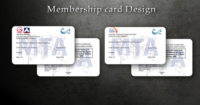 Membership Card Design Graphic Design Sample Design